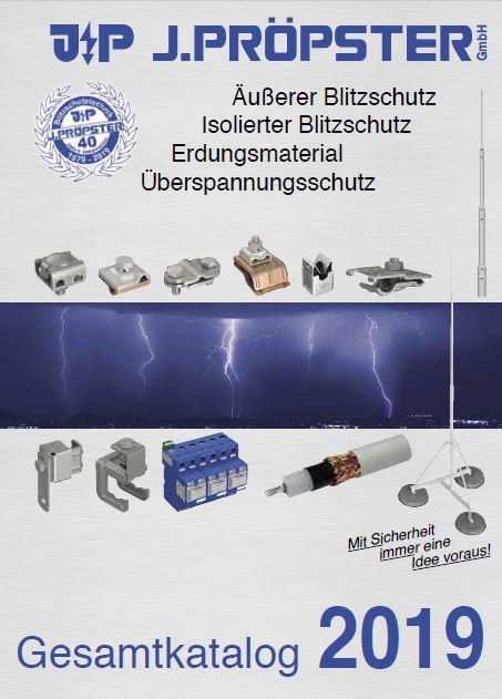 Katalog J. Pröpster 2019